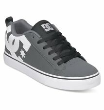DC Shoes Men's Court Vulc Low Top Shoes - Grey (Grw)