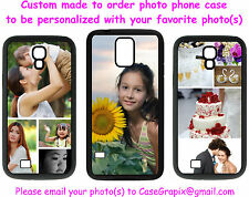 Custom Photo Picture Samsung Galaxy Rubber Phone Case S3 S4 S5 S6 Edge Note 3 4