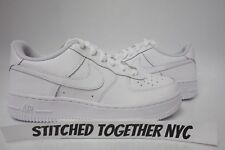 (314192-117) GRADE-SCHOOL YOUTH NIKE AIR FORCE 1 LOW WHITE/WHITE/WHITE