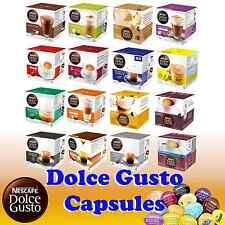 Nescafe Dolce Gusto Capsules Pods Large Variety of Flavours Sold Loose
