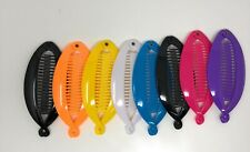 4 pcs  NEW VINTAGE LARGE COMB BANANA CLIP HAIR RISER CLAW LOT choose color