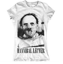 Hannibal Lecter Silence Of The Lambs Inspired Lady Fit T shirt UK Sizes 6-18