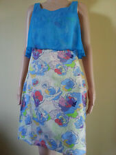 Amee Lou Fitted pencil dress with bodice flounce BNWT RRP $150+ Sz 8, 10, 14