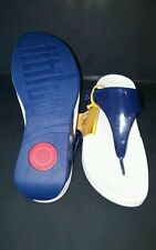 New FITFLOPS Super Jelly French Navy Sandals Style# 404-292