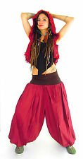 Harem Pants Pure cotton cool Baggy Afghan Aladin Alibaba festival TRIBAL Indian