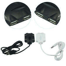 4 Port Hub High-Speed USB 2.0 Splitter Cable Adapter for Laptop PC Tide