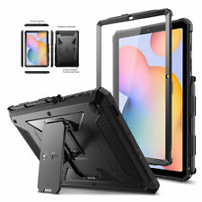 Dual Layer Rugged Impact Resistant Bumper Hybrid Cover Case For Apple iPad