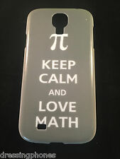Geek Keep Calm  And Love Math Case Cover For Apple iPhone 4/4s Samsung S4 S5