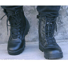 Lace Up Mens Special Forces Military Boots Army Boot SWAT Tactical Combat Boots