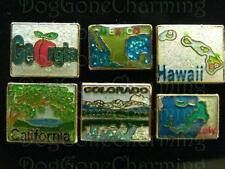 Georgia Hawaii Colorado California San Diego ONE PC Floating Locket charms