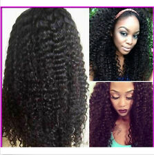 """12""""-26"""" 4 Colors Malaysian Kinky Curly Remy Human Hair Lace Front/Full Lace wigs"""