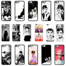 Audrey Hepurn Case Cover for Apple iPhone 4 4s 5 5s 6 6 Plus - 01