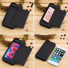 Card Holder Pocket ShockProof Case Cover For iPhone  5/5S 6 Plus MG
