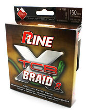 P-LINE TCB 8 TEFLON COATED 8 CARRIER BRAID FISHING LINE 150 YD GREEN select test