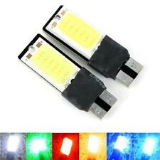 12V 2PcsX W5W T10 LED Auto Car Interior Wedge COB Width Bulb Light Side Lamp E88