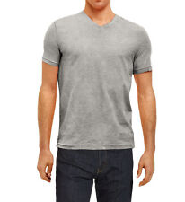 Kenneth Cole Reaction Men's Slub Knit V-Neck T-Shirt