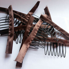 New 10,20,30,50pcs one bag Wig Gloden/Brown Combs very convenient for wig caps