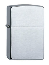 Engraved Zippo Armor Case Chrome Brushed with Free Text and Logo Engraving