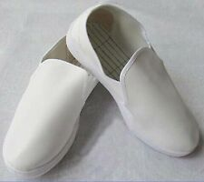 White Leather Anti Static Shoes ESD Clean Shoes Pharmaceutical Shoes Work Shoes