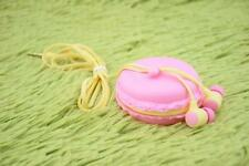 In-Ear 3.5mm Earphone #O Headset Cute Macaron Bread Storage For Phone PC MP3/4