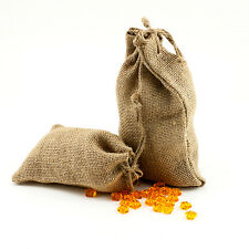 4x6 Burlap Party Favor Shabby Chic Rustic Drawstring Tie Bag Natural Pouch Sack