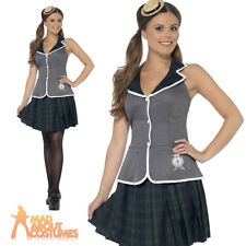 Adult Prefect Costume Sexy Ladies School Head Fancy Dress St Trinians Outfit