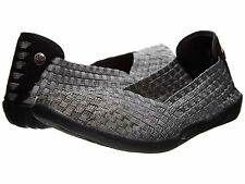 Women's Shoes Bernie Mev. Catwalk Casual Slip On Flats Pewter *New*