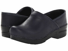 DANSKO PROFESSIONAL WOMENS BLUEBERRY OILED CLOSED BACK SHOES CLOGS SIZE
