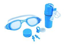 SWIM SET Waterproof Carry Case Earplugs Nose Clip Goggles Class Beach Toy 26002