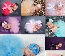 COOL!! 2015 NEW 7 color Newborn Tutu Clothes Skirt Baby Girls Photo Prop Outfits