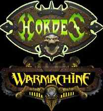 Warmachine & Hordes Token Sets, NEW