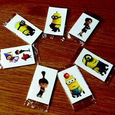 20 Despicable Me temporary tattoos party bag fillers boys