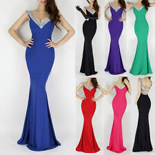 CHEAP~~Long Mermaid Formal Prom Dresses Party Ball Evening Pageant Wedding Gown