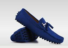 Stylish mens real suede Casual slip on  Loafers tassel  Moccasins driving shoes