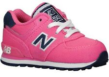 New Balance KL574PFI 574 Classic Pink/Navy Athletic Shoes Toddler's Size