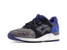 ASICS GEL LYTE III BLACK PURPLE FUSION HIGH VOLTAGE SNEAKERS H521N-9090 SHOES 3