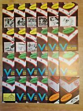 Fulham Rugby League Programmes 1980 - 1990