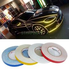 1Roll 1cm*45M Car Auto Vehicle Light Reflective Strip Tape with 3M Sticker Decor