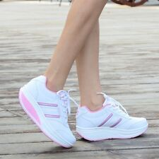 Womens Girls Platform Wedge Casual Air Max Spring Boots Sneakers Shoes Stylish