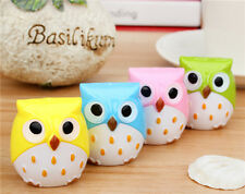 Hot sale!! Cute Owl pencil sharpener Korea originality lovely rolling pen knife