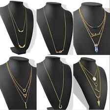 Fashion Lady Gorgeous Pendant Chain Gold Chain Choker Necklace Jewelry Charm New