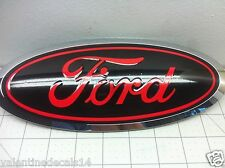 Ford F150 2015 Front and Rear Oval Emblem Overlay Decal