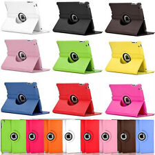 PU Leather 360 Degree Rotating Stand Case Smart Cover For iPad 2 3 4 Mini Air