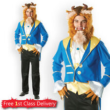 Adult Beast Fancy Dress Costume from Beauty and Beast Disney Licensed Outfit