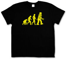 Robot Evolution TBBT TV T-SHIRT The Big Bang Theory Sheldon Nerd Size S-3XL