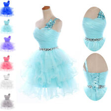 SUMMER CHEAP   TUTU SHORT Prom Party Homecoming Dresses Bridesmaid Evening Gowns