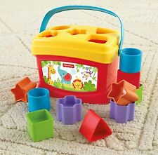 Fisher Price Baby First Blocks Toy Developmental Learn Infant Game Toddler Toys
