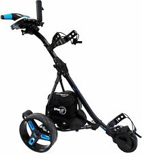 Easy Trek-Sport, Remote Controlled Caddy by Spin It Golf  (Black/Blue)