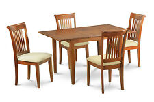 Milan 7 Pieces dinette set for small spaces-kitchen table and 6 Dining Chairs