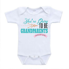 you're going to be grandparents pregnancy announcement date youre baby onesies